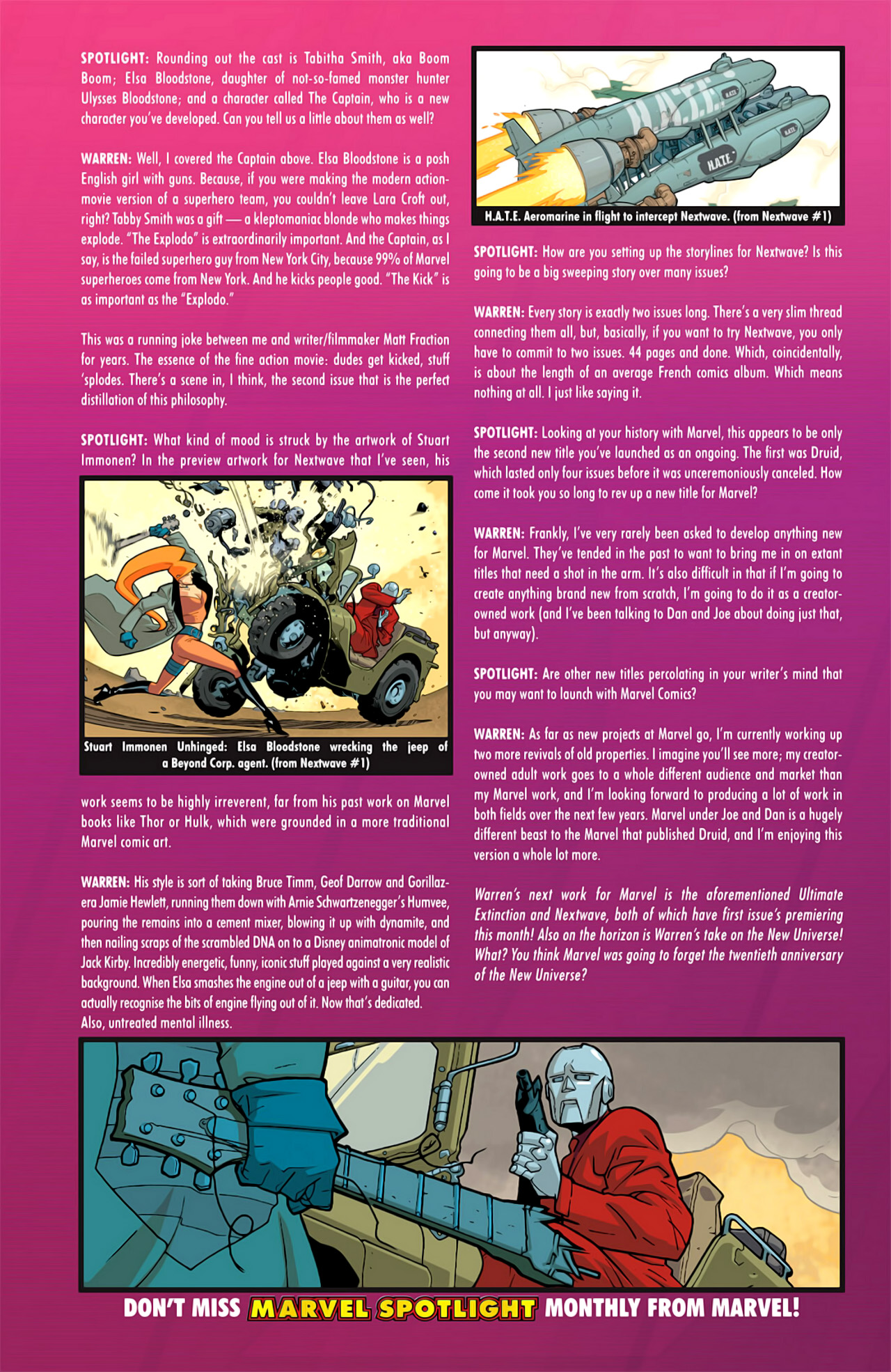 Read online Ultimate Extinction comic -  Issue #2 - 30