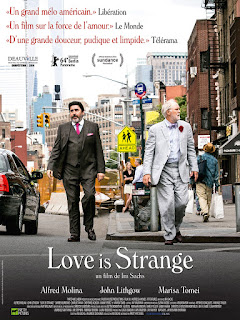 Affiche de Love is Strange, d'Ira Sachs (2014)