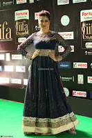 Raai Laxmi in Beautiful Backless Designer Anarkali Gown at IIFA Utsavam Awards 2017  Day 2  Exclusive 61.JPG