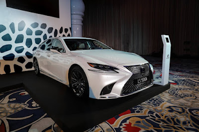 2018 Lexus LS launched in Doha,Qatar