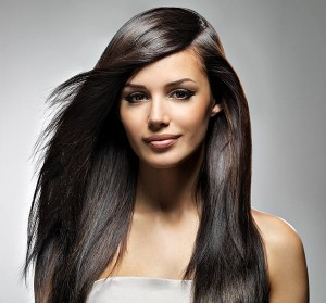 Shiny Looking Hair