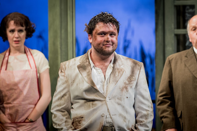 Britten: Albert Herring - The Grange Festival - Kitty Whately, Richard Pinkstone, Adrian Thompson (photo Robert Workman)