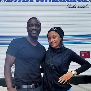 Rahama Sadau Tare Da Akon