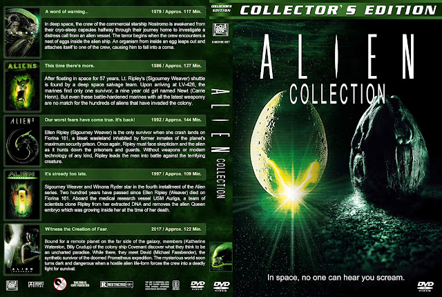 Alien Collection DVD Cover