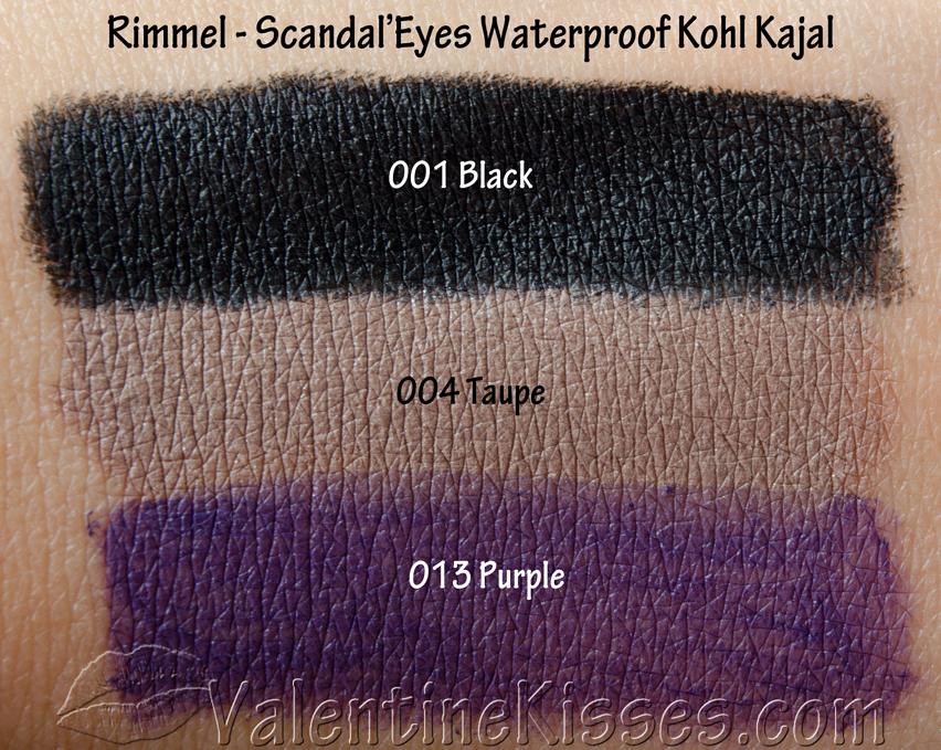 1a784b2af43 Valentine Kisses: Rimmel ScandalEyes Waterproof Kohl Kajal Eyeliner ...