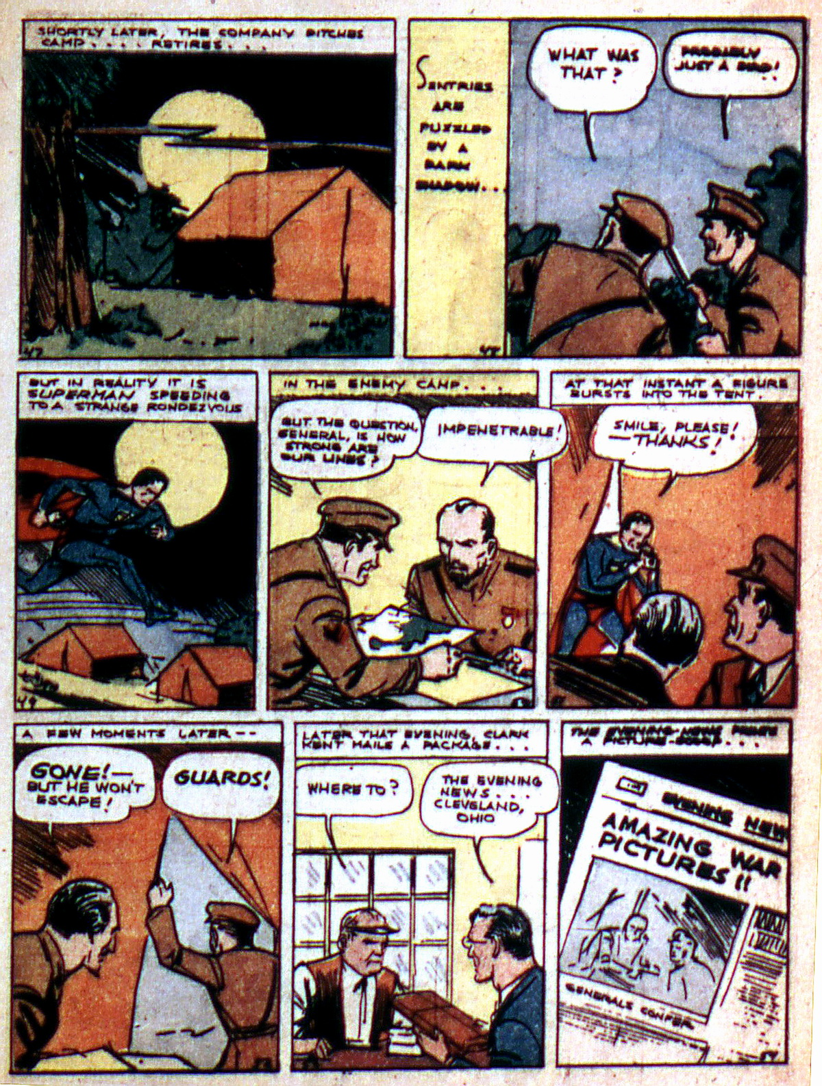 Read online Action Comics (1938) comic -  Issue #2 - 9