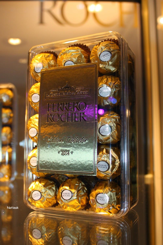 Grand Palais de Paris Ferrero  Ferrero rocher