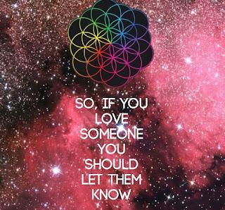 Coldplay Lyrics - Everglow