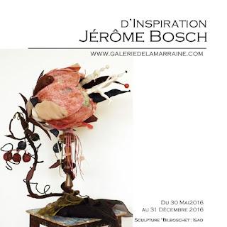 """Exposition """"d'Après Jérôme Bosch"""""""