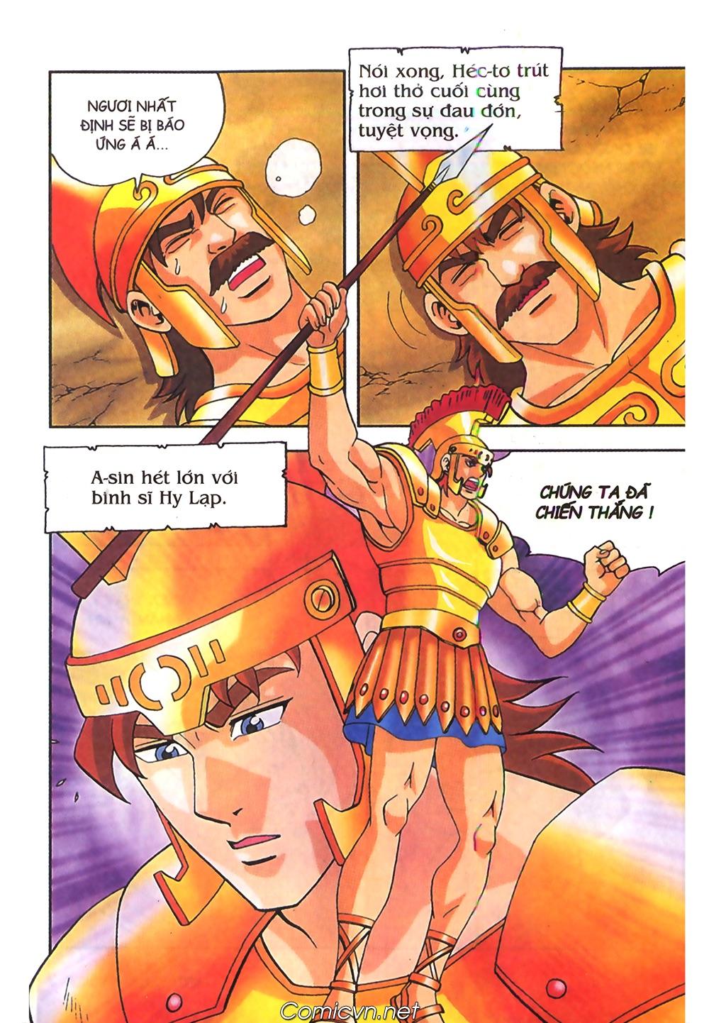 Thần Thoại Hy Lạp Màu - Chapter 62: Hector tử trận - Pic 8