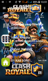 BBM Mod Clash Royale Apk v2.13.0.26 Terbaru 2016