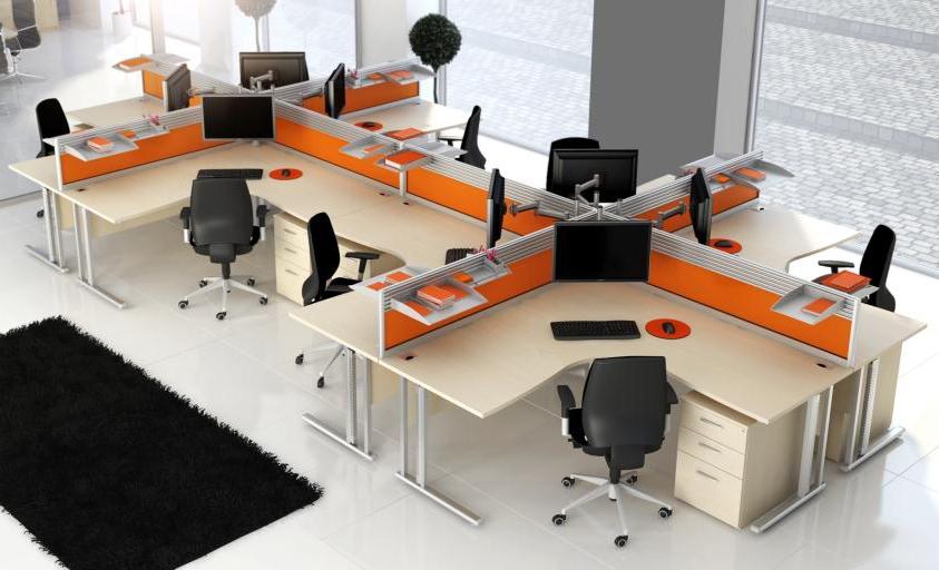 ide desain interior kantor minimalis modern inspiratif yang menawan 4