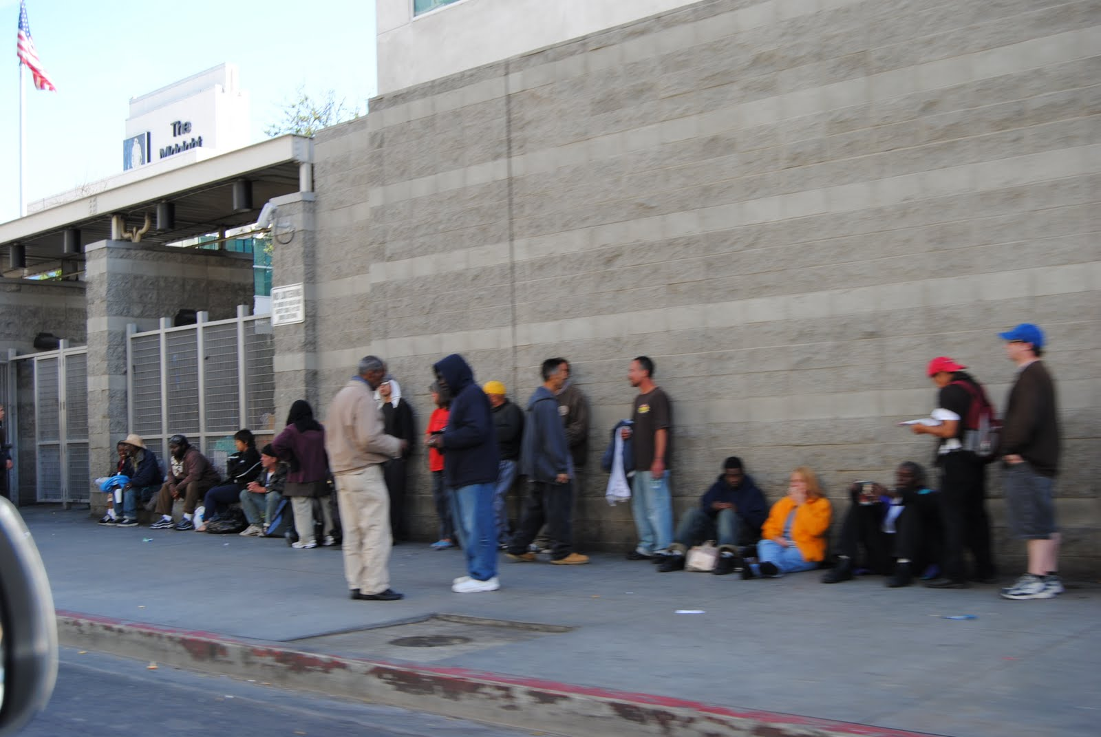 Project AOP: Skid Row Downtown Los Angeles: Visit One...