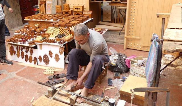 Marrakesch - Handwerker in den Souks