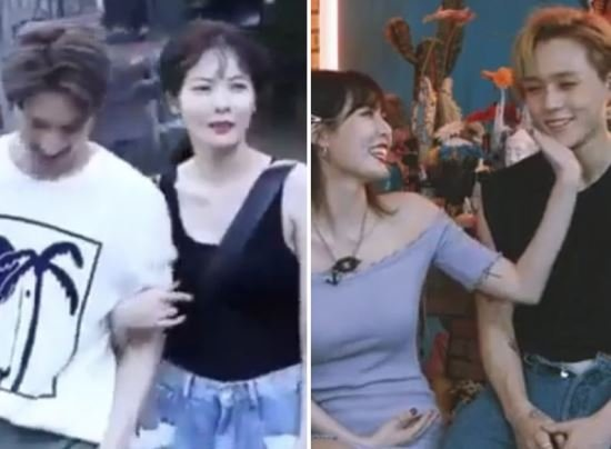 Netizens Bash Hyuna For Having Too Much Skinship With