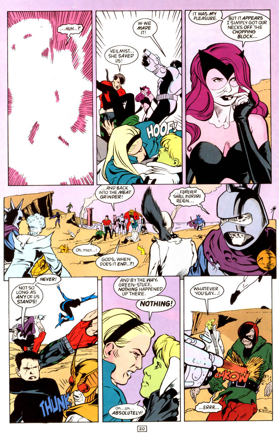 Legion of Super-Heroes (1989) 45 Page 19