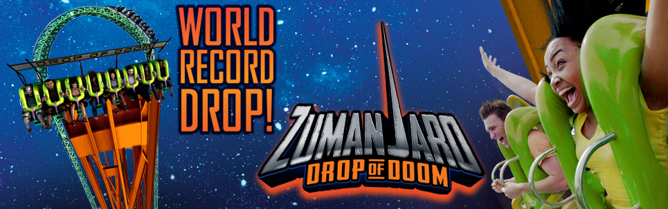 New Details on Zumanjaro: Drop of Doom at Six Flags Great