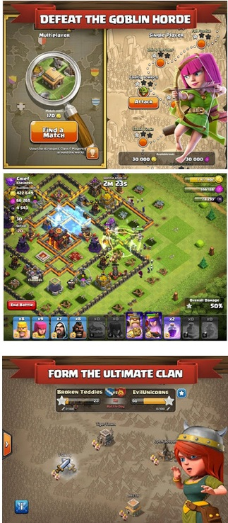 Clash Of Clans Mod v10.322.16 Apk (Unlimited Gems/Gold /Elixir) Update 2018