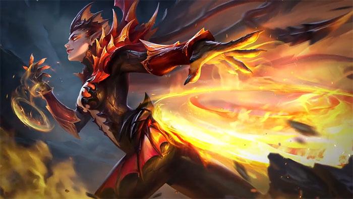Karrie S New Skin Dragon Queen Mobile Legends 2018
