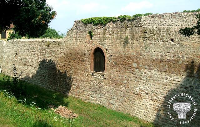 CHÂTENOIS (67) - Tour des Sorcières et Remparts médiévaux