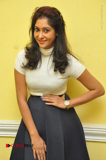 Telugu Actress Sindhu Affan Latest Pos in Black Skirt at Www.Meena Bazaar Movie Opening  0010.JPG