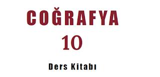 10. Sınıf Coğrafya MEB Yayınları