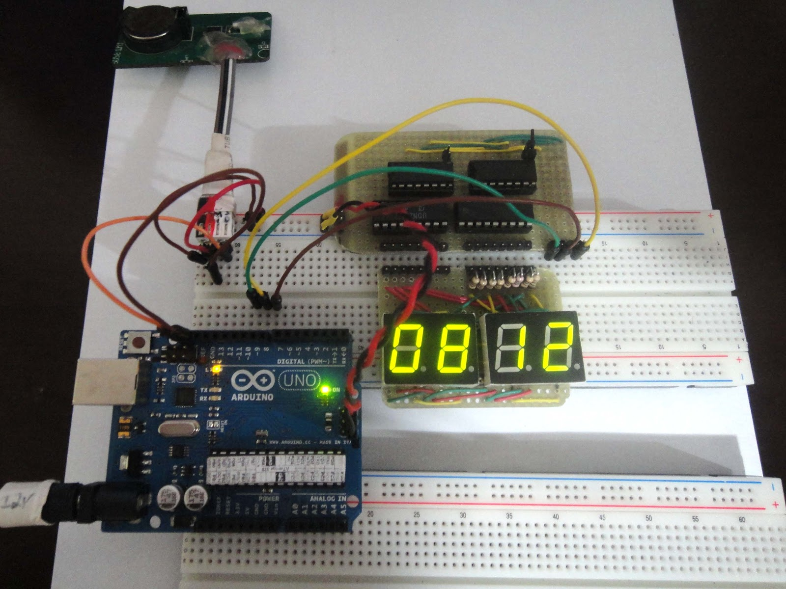 Electronics For Bharat Updated Bread Board Tips And Tricks Basic Circuit Breadboard Hacks Mods Circuitry Breakout Arduino In Use