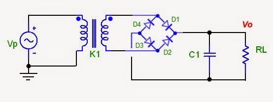 Circuito Retificador : Eletrônica analógica diodo como retificador