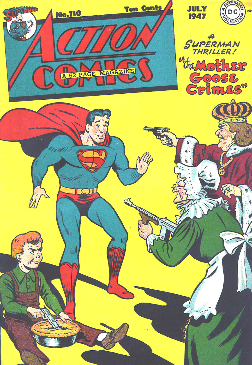 Read online Action Comics (1938) comic -  Issue #110 - 1