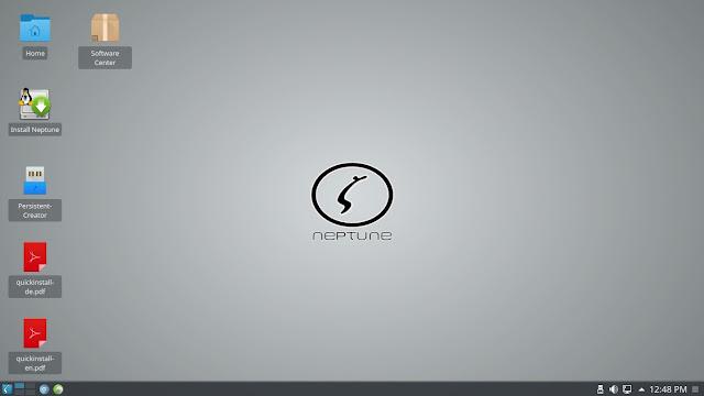 A ISO do Neptune Linux 4.5.1 está disponível com boot suporte para USB 3 e KDE Plasma
