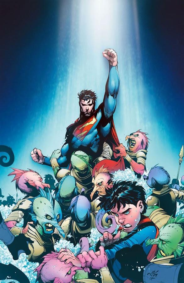 superman dc rebirth patrick gleason superboy viktor bogdanovic dc comics