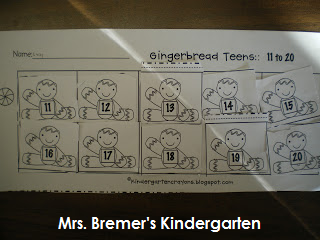 Gingerbread Man literacy centers for young learners- perfect for December!