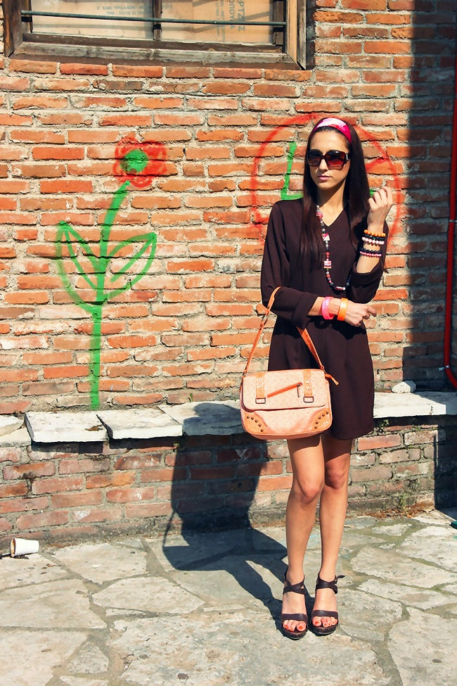 best brown spring looks, beautiful short brown dresses