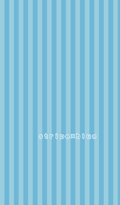 stripe*blue