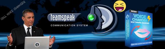 TeamSpeak voice changer