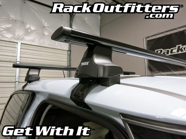 Rack Outfitters New Fiat 500l Thule Rapid Traverse Black