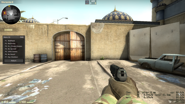 Counter Strike Global Offensive Hack [ Wall Hack , Esps