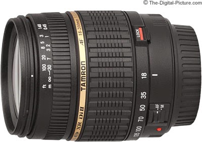 Lensa Tamron 18mm-200mm
