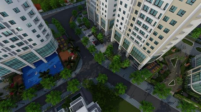 Cảnh quan dự án Gelexia Riverside