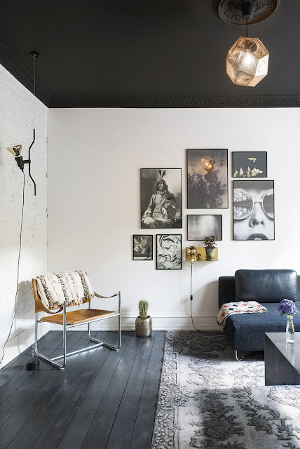 Black and White Goes Glam in Copenhagen - design addict mom