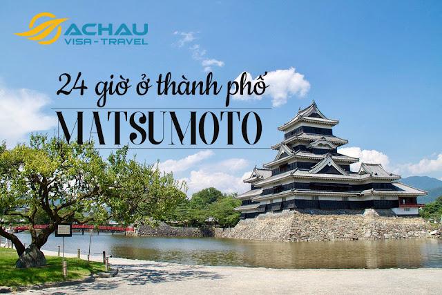 Đi đâu, làm gì với 24 giờ khi đi du lịch ở Matsumoto, Nhật Bản?