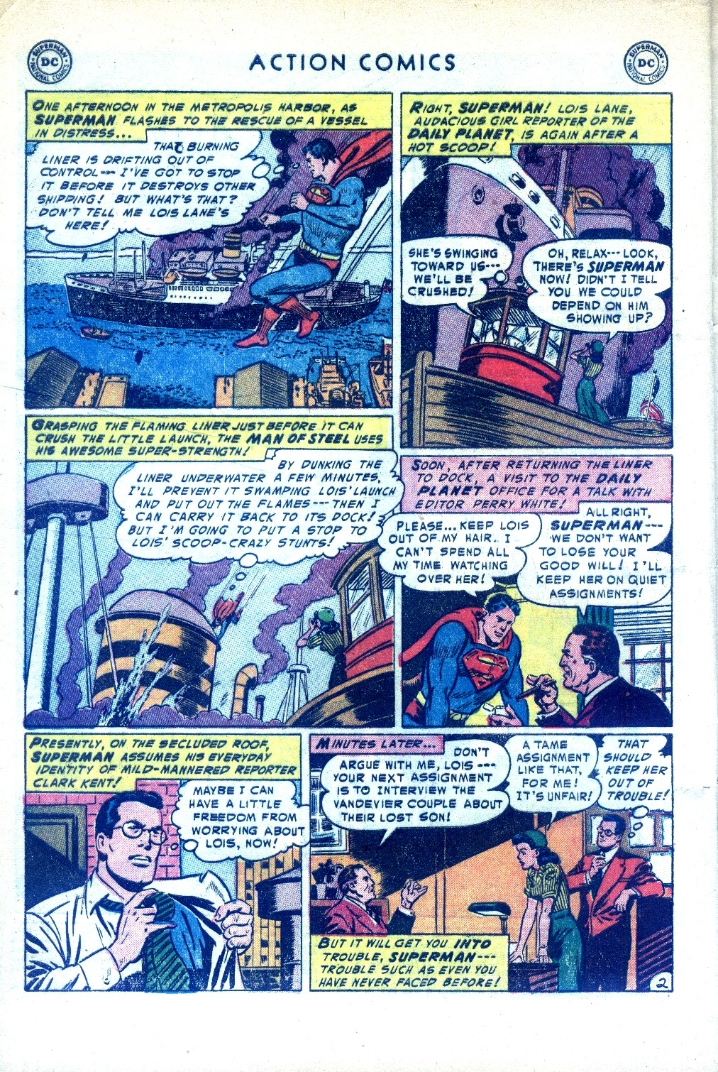 Read online Action Comics (1938) comic -  Issue #189 - 4