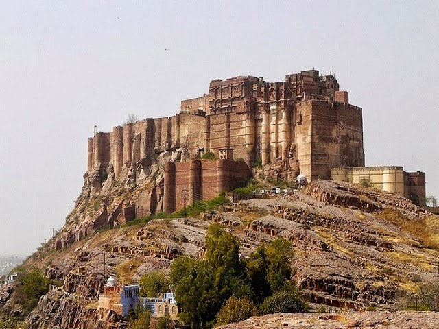 Mehrangarh Fort in Jodhpur, Rajasthan  IMAGES, GIF, ANIMATED GIF, WALLPAPER, STICKER FOR WHATSAPP & FACEBOOK