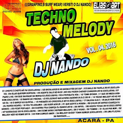 CD TECHO MELODY VOL.04 21/04/2016
