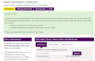 the what is mavscholar information guide