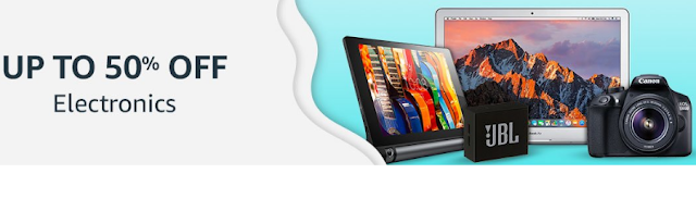 Amazon Great Indian Festival Sale 2018 Offer: 10th to 15th October 2018