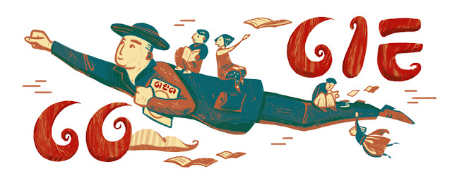 Bang Jeong-hwan's 117th Birthday: Google Doodle