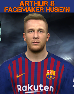 PES 2017 Faces Arthur by Facemaker Huseyn