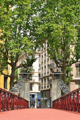 Passerelle Saint-Vincent à Lyon - Visite guidée Lyon