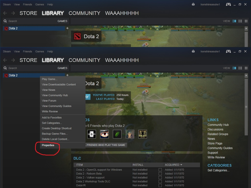 PinoyThinking: Problems like Failed Dota 2 to load engine2 dll
